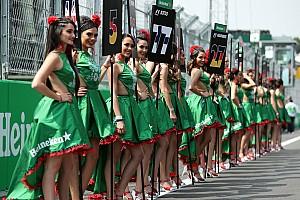 Adiós a las chicas de la parrilla en la F1