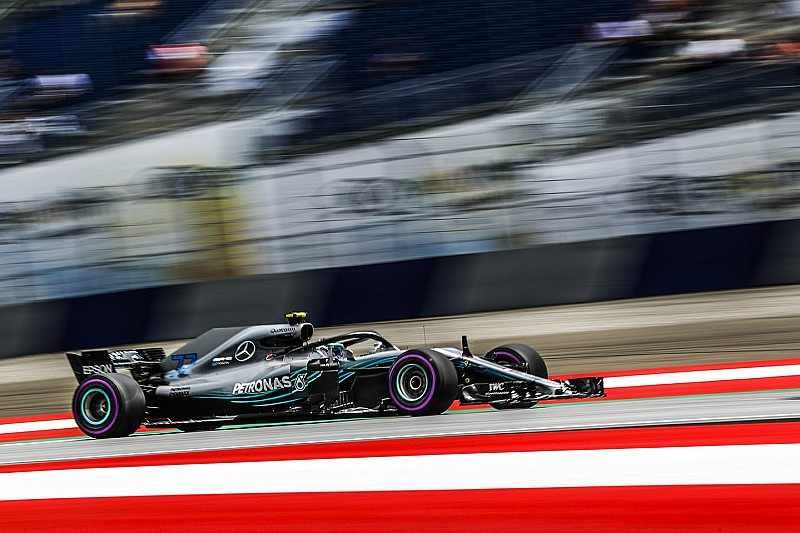 GP Austria: Bottas start pole, Mercedes kunci 1-2