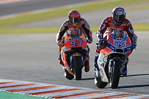 MotoGP Interview Marquez admits he underestimated Dovizioso
