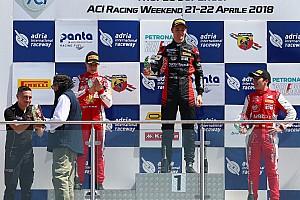 Formula 4 Gara Leonardo Lorandi vince Gara 2 ad Adria ed è leader del campionato