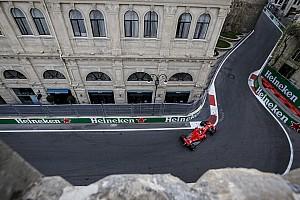 Формула 1 Прямой эфир Онлайн Гран При Азербайджана: третья тренировка