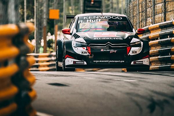 Macau WTCC: Huff beats Michelisz to take pole