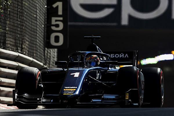 FIA F2 速報ニュース F2モナコレース1:マルケロフ10秒差完勝。福住粘りの走りで10位入賞