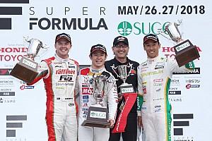 Super Formula Race report Sugo Super Formula: Yamamoto wins after botched Kobayashi stop