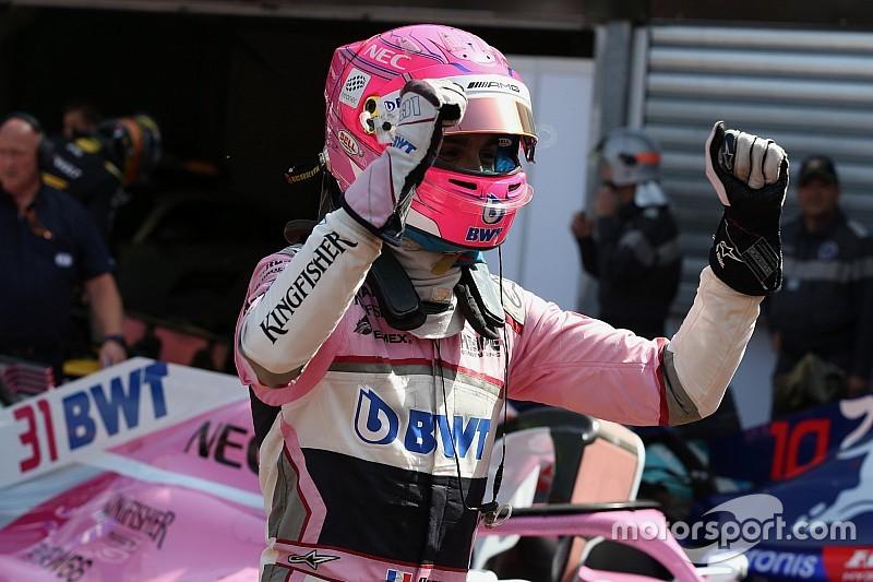 """Ocon """"cramé"""" mais heureux avec la sixième place à Monaco"""