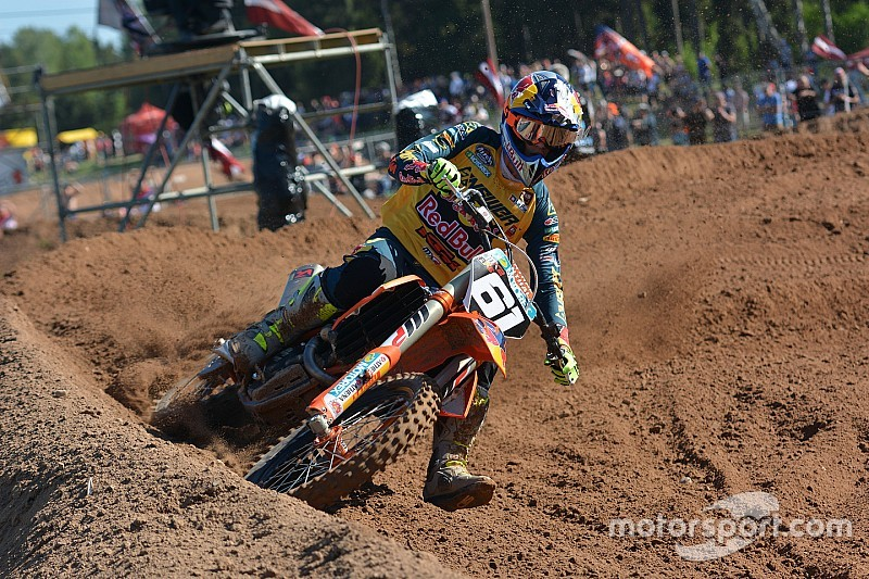 Prado in pole in MX2 in Lettonia, Jonass solo 12esimo in
