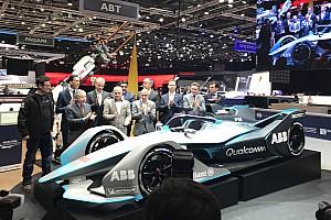 Формула E Новость Формула Е показала «живую» машину нового поколения