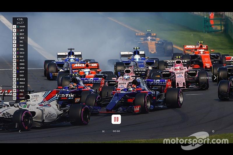 Peluncuran layanan streaming Formula 1 ditunda