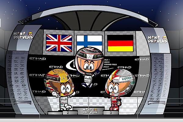 Vídeo: los MiniDrivers muestran el lado divertido del GP de Abu Dhabi