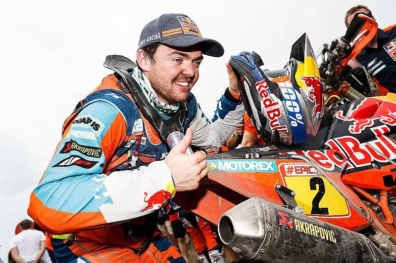"Walkner: ""Luck was on my side"" in Dakar triumph"