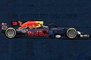 Формула 1 Самое интересное Синяя и с Halo. Наглядное сравнение новой машины Red Bull со старой