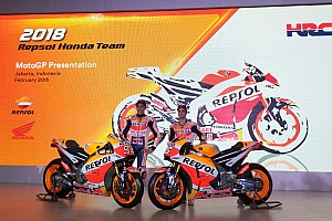Honda presenta oficialmente en Yakarta la moto de Márquez y Pedrosa