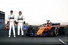McLaren estrena el MCL33 con motor Renault en Navarra