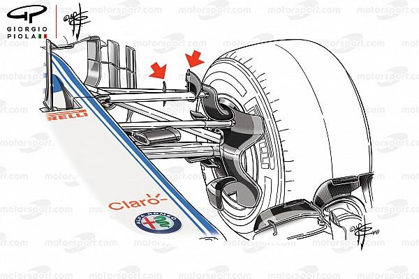 Formula 1 Analisi Sauber: la
