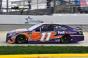 NASCAR Cup Race report Denny Hamlin takes Stage 1 win at Martinsville