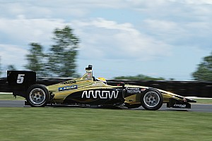 Indy Lights Race report Mid-Ohio Indy Lights: Urrutia beats Herta in Race 1