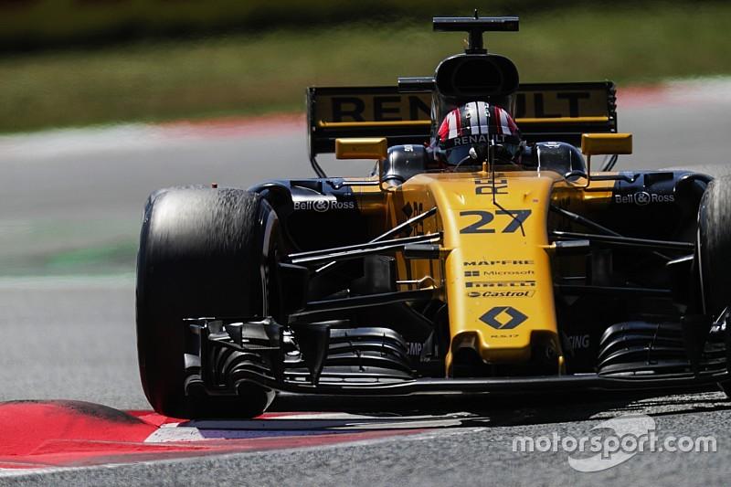 Renault perplejo por el ritmo que mostraron en Barcelona