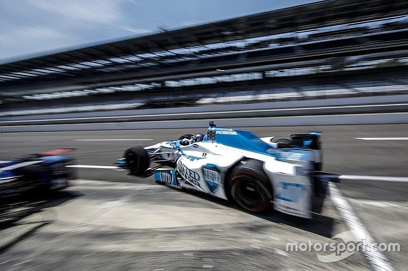 EL1 - Marco Andretti donne le ton à Indianapolis