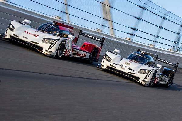 Reigning champions lead Cadillac 1-2-3 in Daytona test