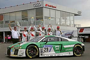 Endurance Breaking news Land Audi's race was