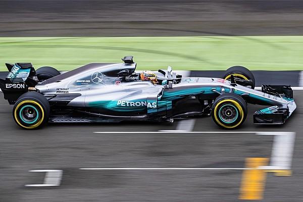 F1 突发新闻 梅赛德斯W08在银石完成试航,开启全新卫冕征程