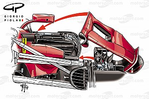 Formule 1 Analyse Tech: De evolutie van de Ferrari SF70H in 2017