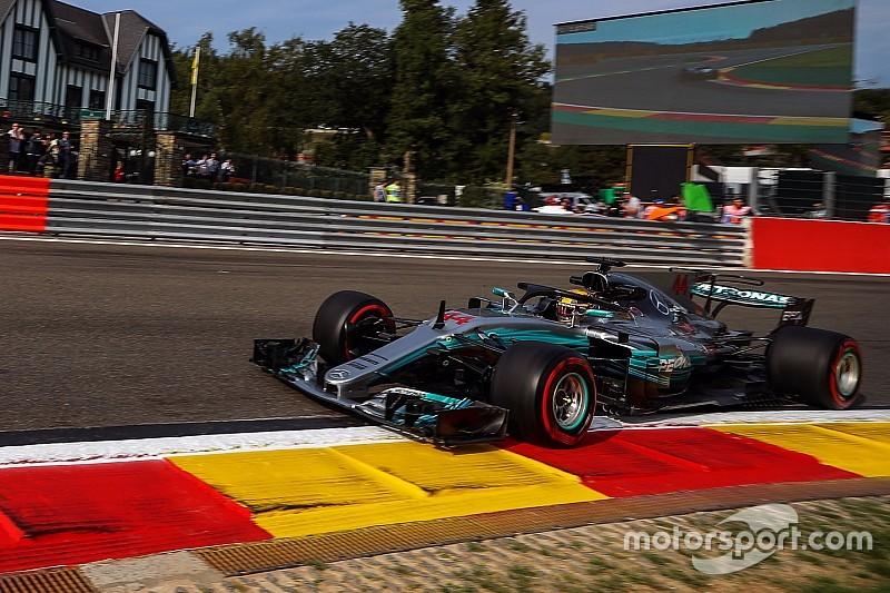 Mercedes gunakan mesin baru di GP Belgia