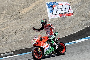 World Superbike Race report Laguna Seca WSBK: Davies beats the Kawasakis for comeback win