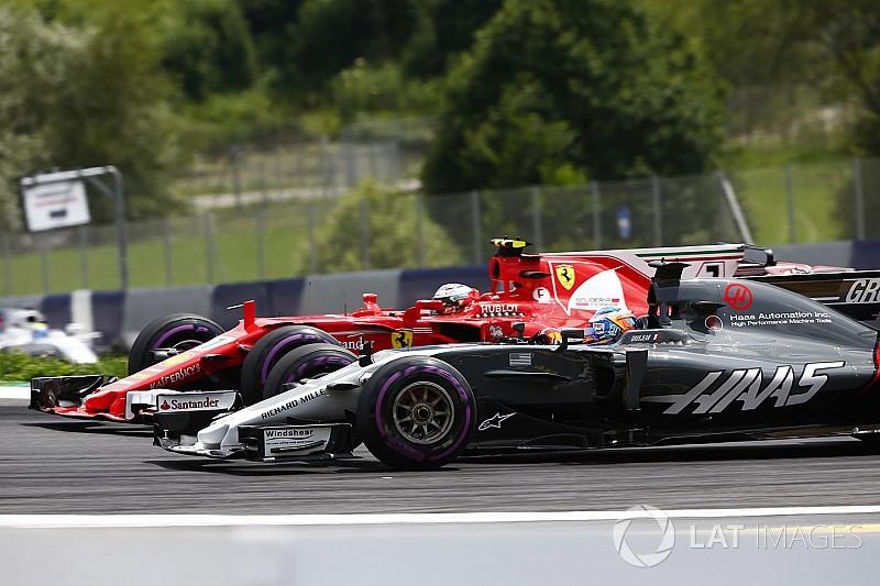 """Grosjean: Haas Avusturya'da """"Formula 1 Grand Prix 2"""" yarışını kazandı"""