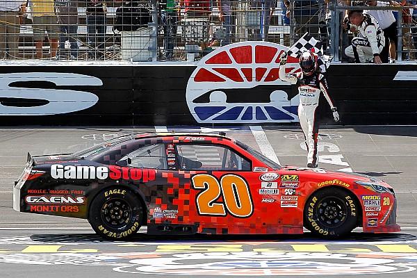 NASCAR XFINITY Erik Jones runs away with Texas Xfinity win