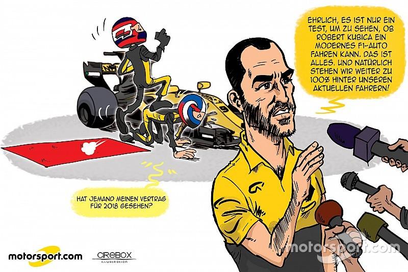 Cirebox: Die Sache mit dem F1-Test für Robert Kubica bei Renault