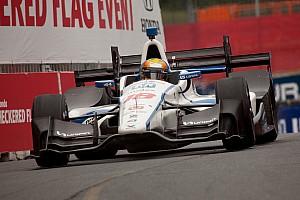 IndyCar Noticias de última hora Video: Esteban Gutiérrez chocó en las prácticas del viernes en Toronto