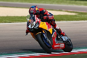 World Superbike Breaking news Honda enters sole bike for Donington after Hayden's passing