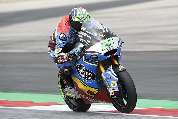 Morbidelli logró un ajustado triunfo en Moto2