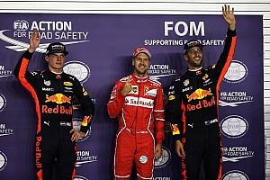 F1 Resultados La parrilla de salida del GP de Singapur