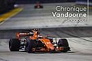 Formule 1 Chronique Vandoorne - McLaren-Renault, une bonne nouvelle pour la F1