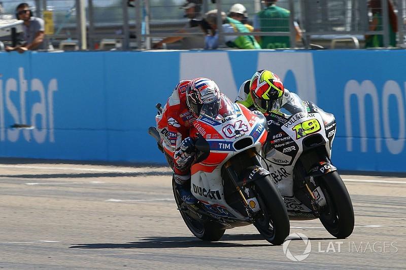 GALERI: Aksi pembalap pada MotoGP Aragon