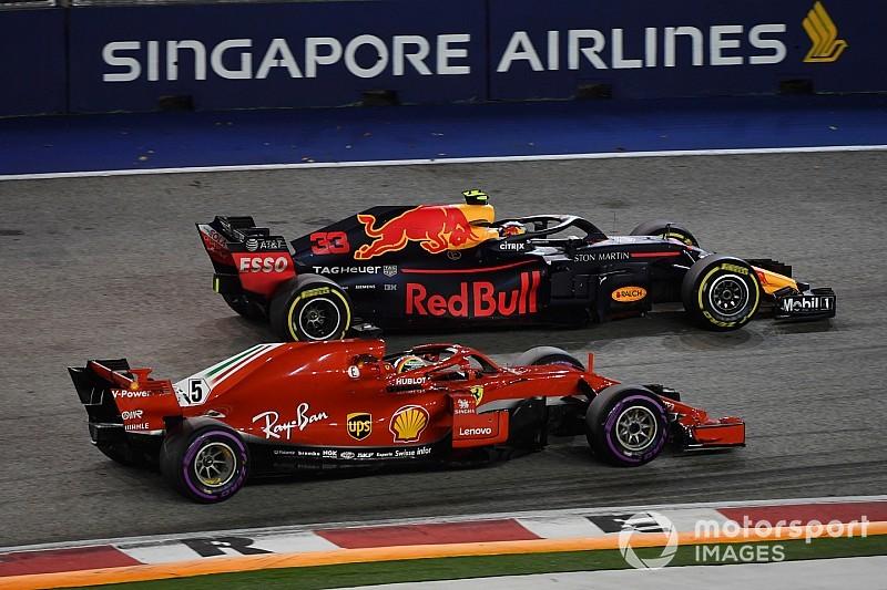 Red Bull: Nach Singapur 2018