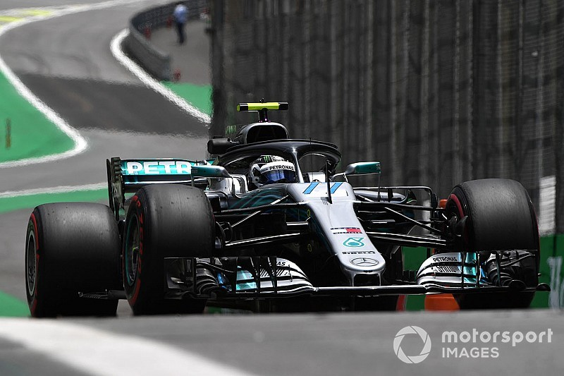 F1, Interlagos, Libere 2: Bottas e Hamilton davanti con Vettel a un soffio