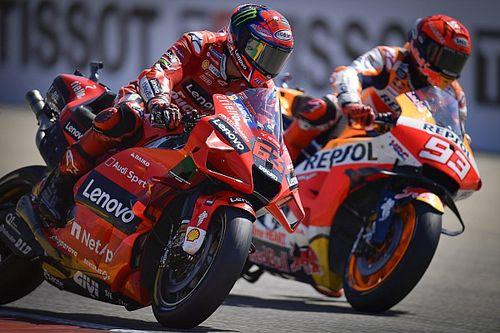 Marquez: Bagnaia was like Dovizioso in Aragon MotoGP battle