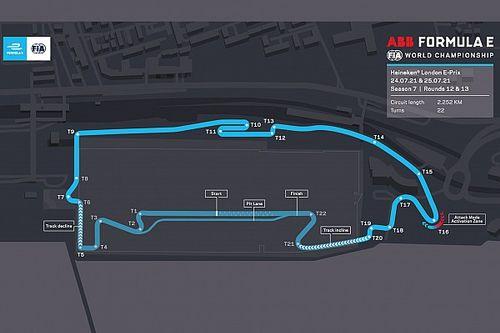 Formula E: ecco il circuito di Londra aggiornato