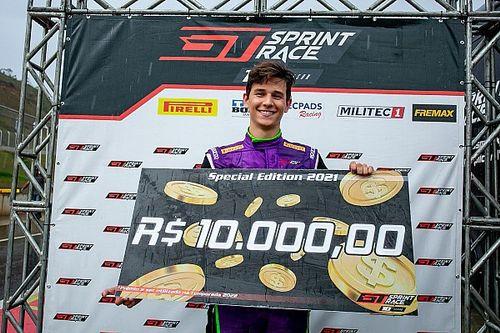 GT Sprint Race Special Edition: na chuva, Nathan Brito vence corrida 1 da final no Potenza