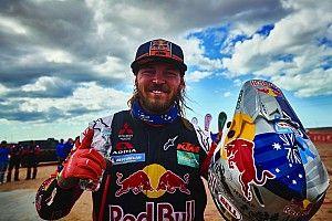 Toby Price, recibido con honores en Australia tras su lesión en el Dakar