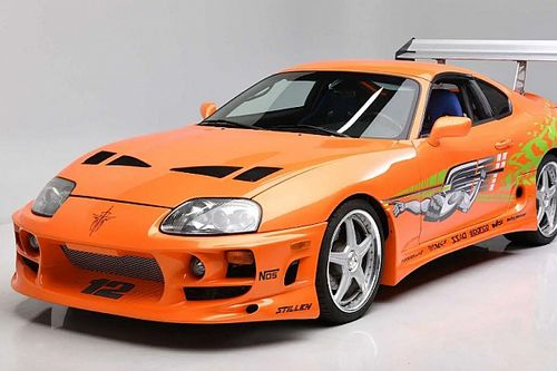Toyota Supra Mobil Ikonik Fast & Furious Paul Walker Dilelang