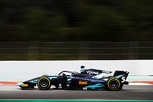 Tes F2 Barcelona: Sette Camara tercepat, Gelael P10