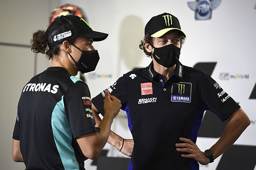 """Morbidelli """"looking forward"""" to Rossi fight in 2021"""