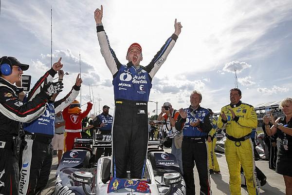 IndyCar Detroit: Rahal scoort dubbel