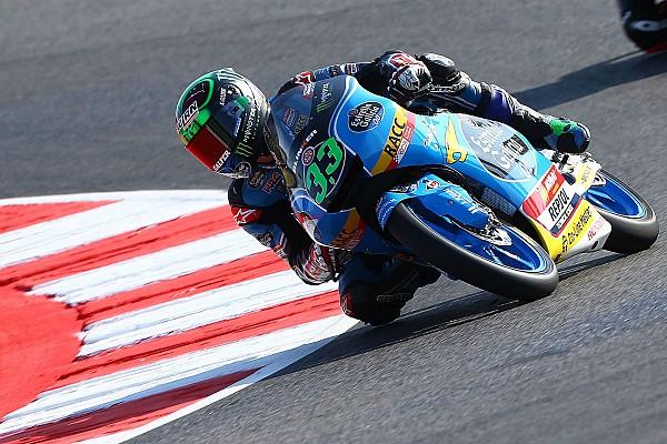 Moto3 Reporte de calificación Moto3: Pole de Bastianini con un susto de Loi