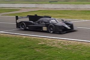 WEC 速報ニュース 【スパイショット】来季WECから参入する新たなLMP1カーがテスト