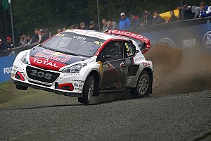 World Rallycross Breaking news Peugeot commits to 2018 WRX season with Loeb